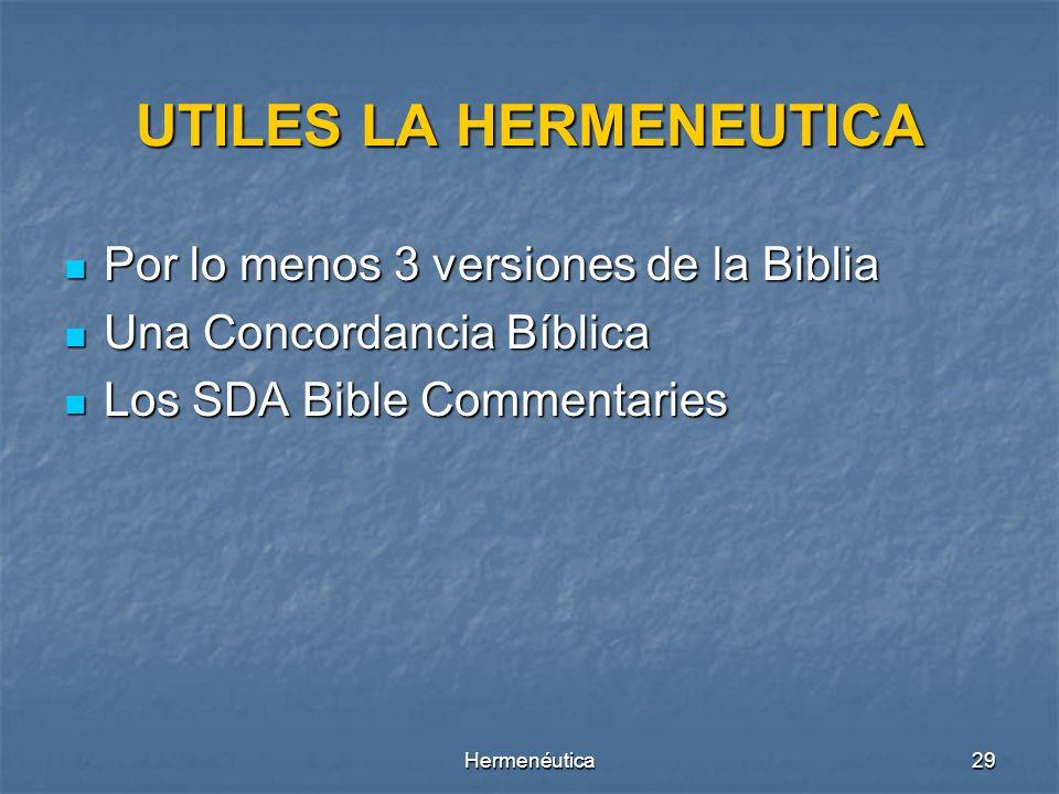 Hermenéutica28 º ¿Cuál es el ideal de Dios en esta situación que es descrito?. º ¿Puede la mente humana entender todos los designios de la mente de Di