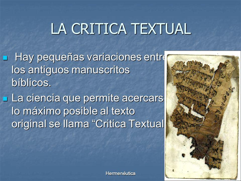 Hermenéutica8 Cosmovisión Sagrada Escritura Intérprete Teología Preguntas Respuestas CIRCULO HERMENEUTICO
