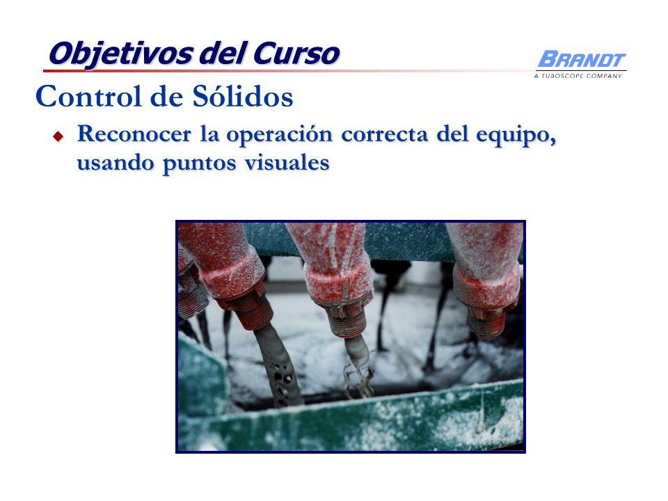 Objetivos del Curso Entender la parte económica y el manejo de desechos Entender la parte económica y el manejo de desechos Control de Sólidos
