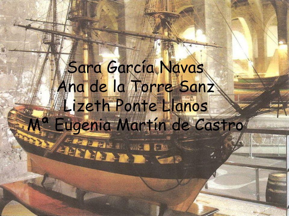 Sara García Navas Ana de la Torre Sanz Lizeth Ponte Llanos Mª Eugenia Martín de Castro