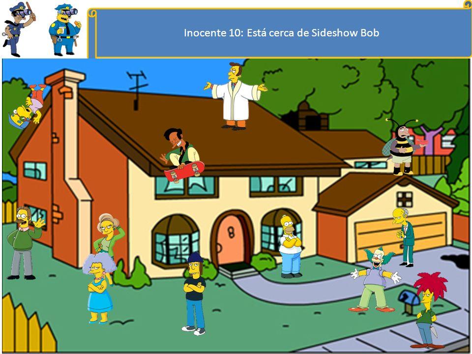 Inocente 9: Está a la derecha de Reverend Lovejoy