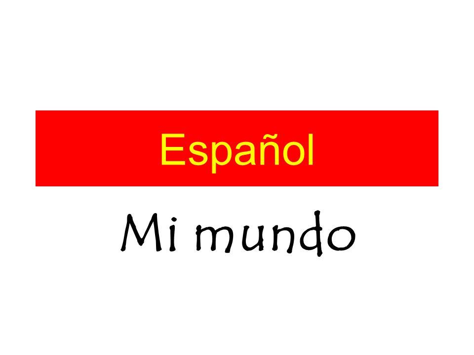 Español Mi mundo