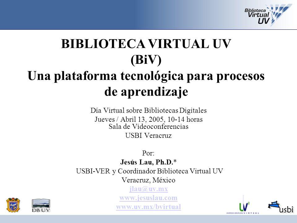 Unidad de digitalización en DGB Conversión de colecciones especiales a formato digital Inclusión retrospectiva de principales revistas UV Equipo de digitalización Software para administrar el repositorio Creaci ó n de acervos digitales