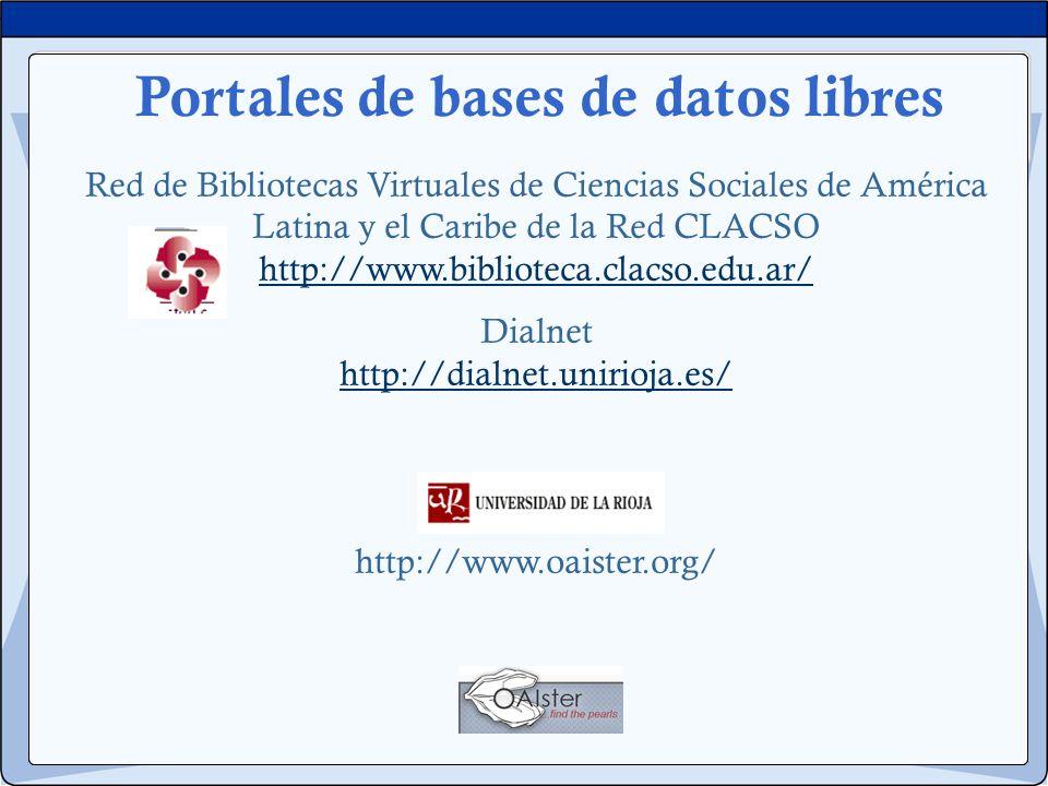 Red de Bibliotecas Virtuales de Ciencias Sociales de América Latina y el Caribe de la Red CLACSO http://www.biblioteca.clacso.edu.ar/ http://www.bibli