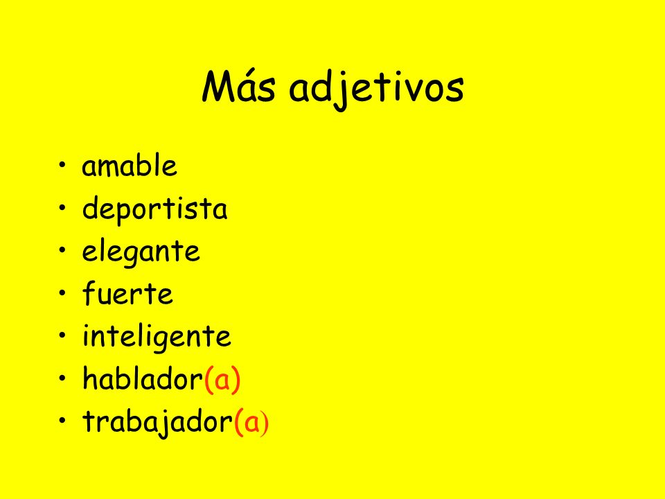 Tener ~ To have Tengo ~ I have Tienes ~ You have Tiene~ He/She has Tenemos~ We have Tenéis ~ You (formal) have Tienen~ They have