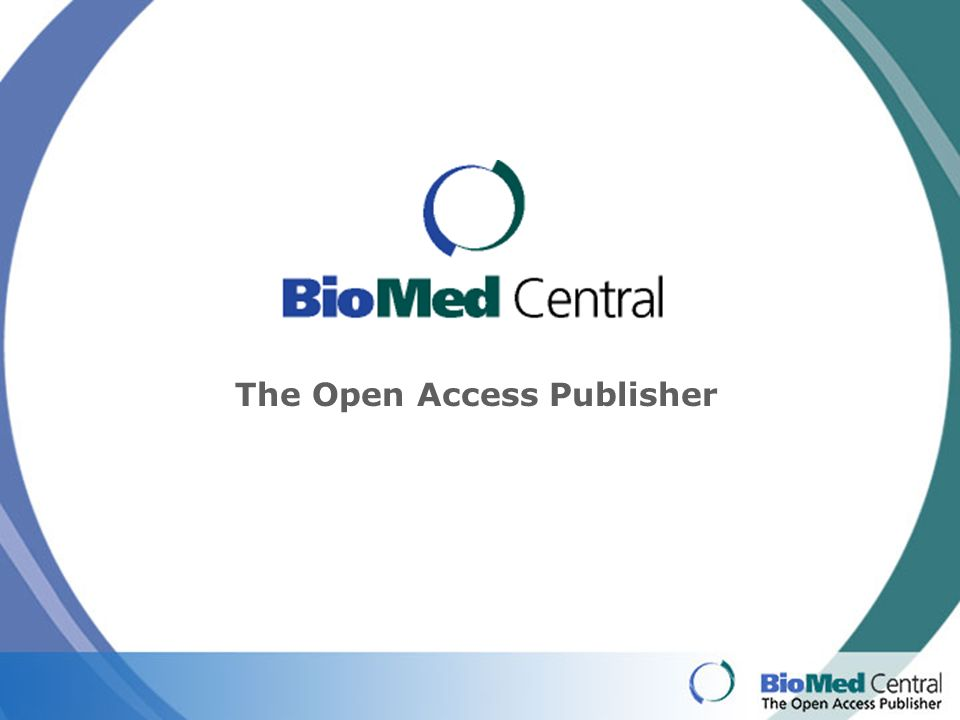 The Open Access Publisher