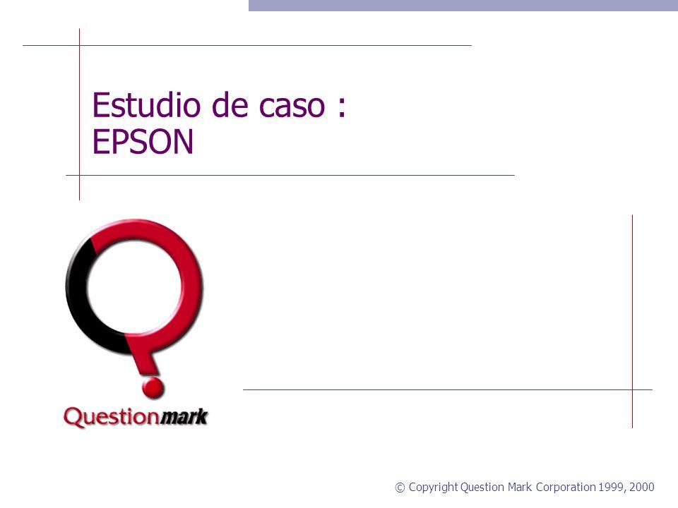 Estudio de caso : EPSON