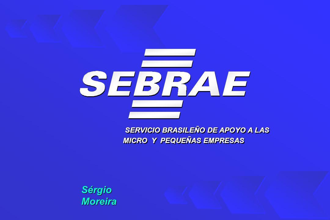 SERVICIO BRASILEÑO DE APOYO A LAS MICRO Y PEQUEÑAS EMPRESAS Sérgio Moreira Sérgio Moreira