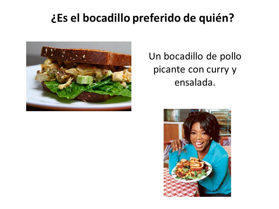un bocadillo en España un bocadillo en Inglaterra LOS BOCADILLOS ¿Hay mucha diferencia?