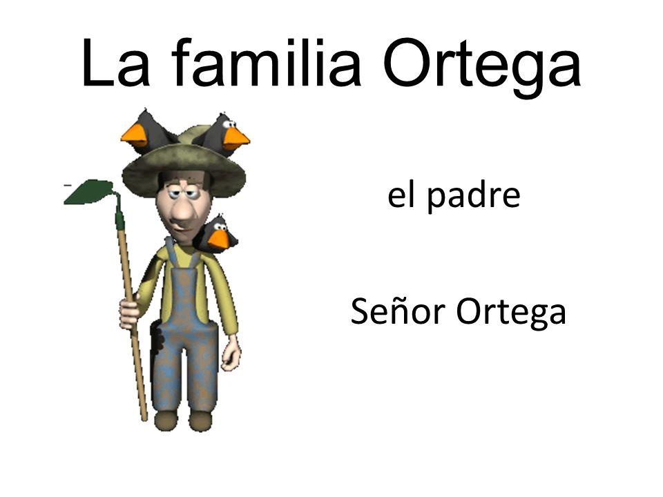Señora Ortega roga el nabo. El nabo crece. Un mes después …