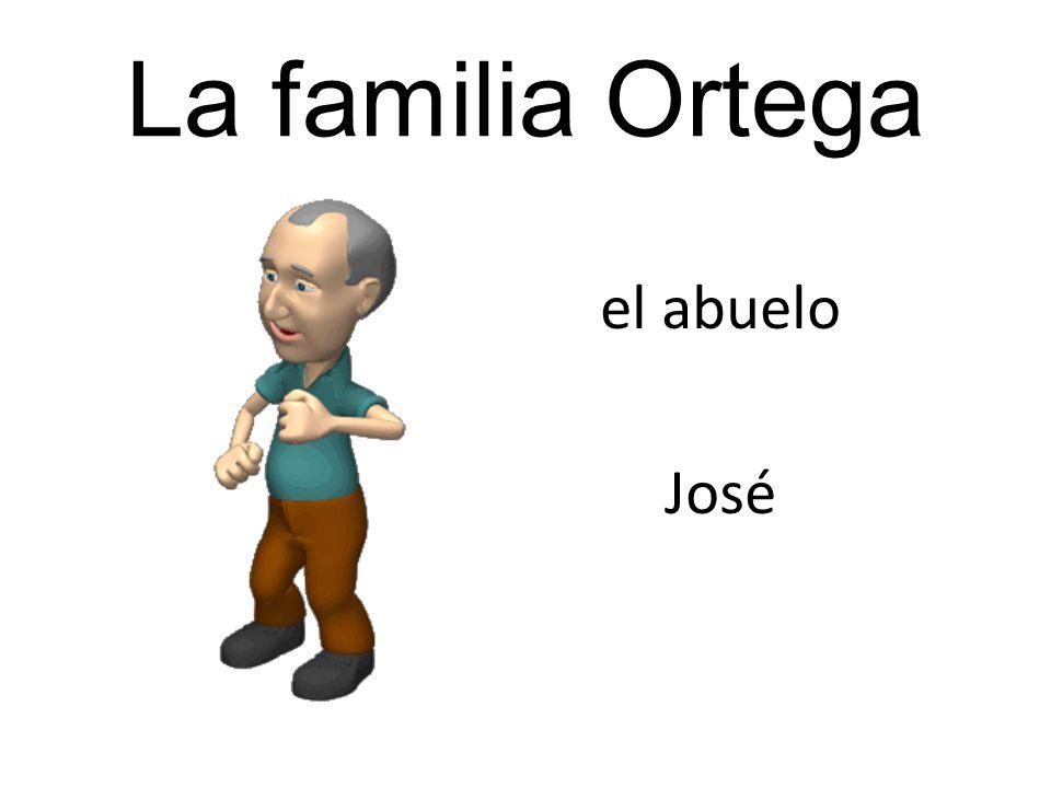 El Sr.Ortega llama a la Sra. Ortega. La Sra. tira del Sr.
