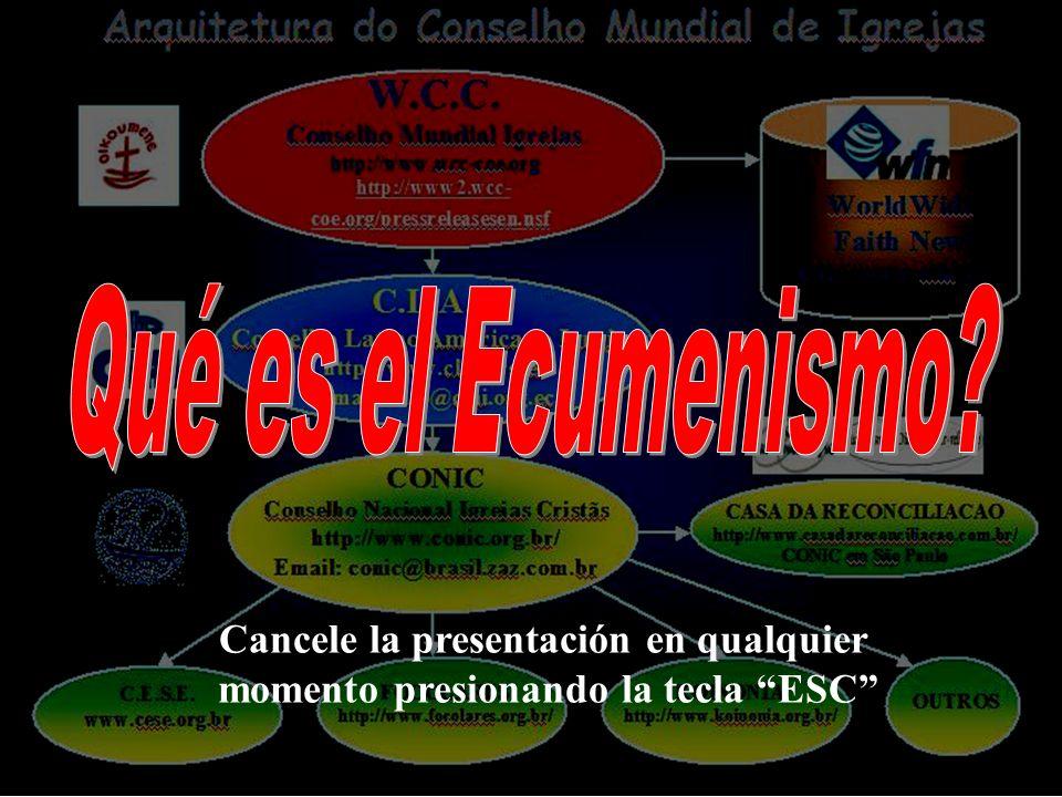 Cancele la presentación en qualquier momento presionando la tecla ESC