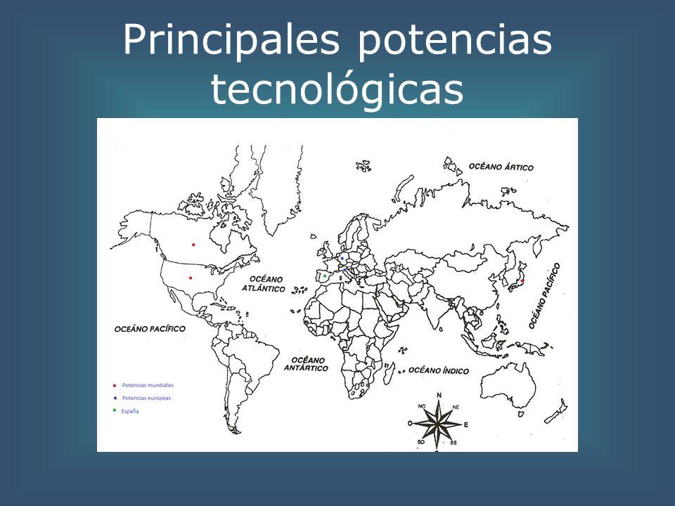 Principales potencias tecnológicas