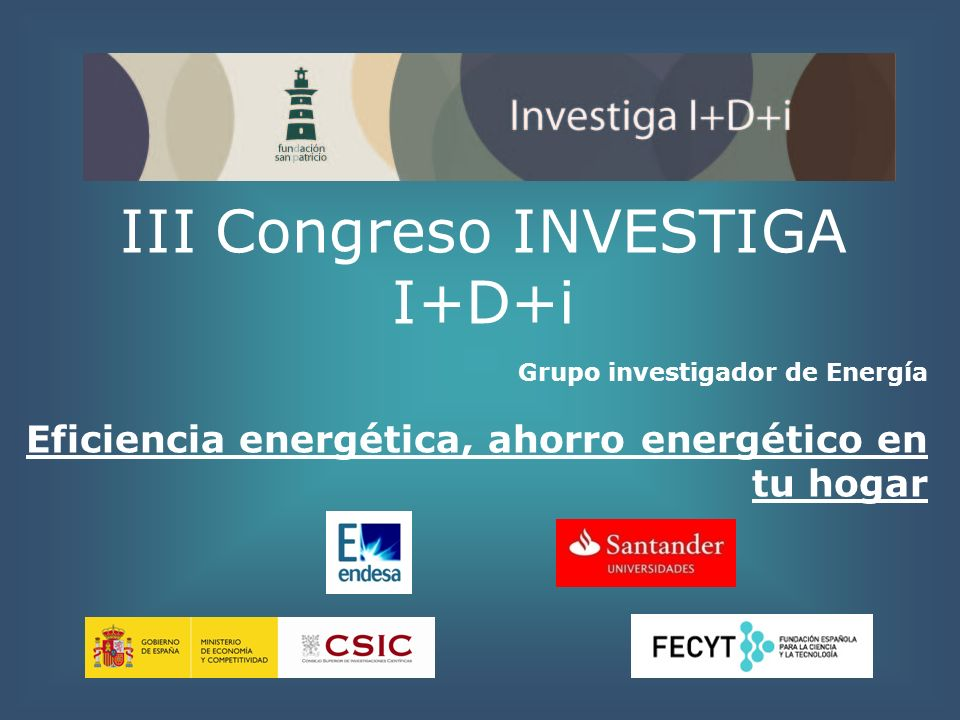 Grupo Investigador Moderadora: Dª.Sonia Molino Secretario: D.