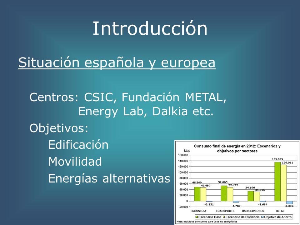 Innovaciones Arquitectura bioclimática Calefacción: 50% del consumo total Tipos: colectiva, central y por habitación.