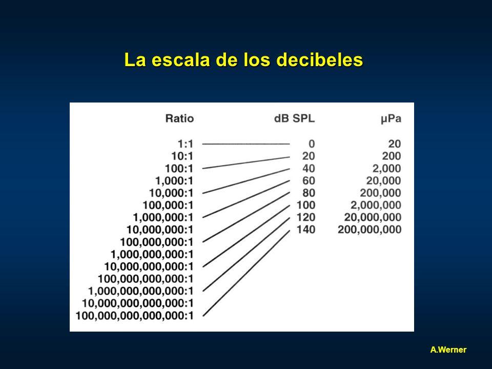 La escala de los decibeles A.Werner