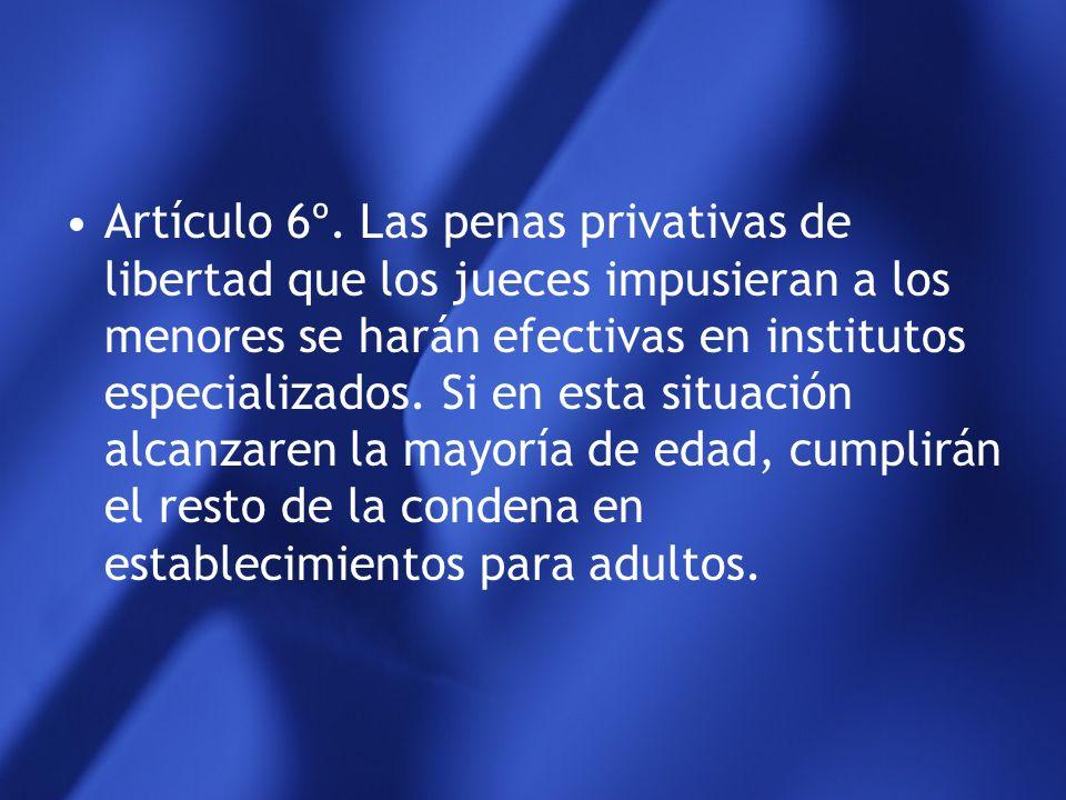 Artículo 5º. Las disposiciones relativas a la reincidencia no son aplicables al menor que sea juzgado exclusivamente por hechos que la ley califica co