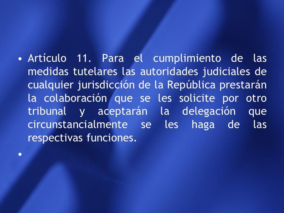 Artículo 10. La privación de libertad del menor que incurriere en delito entre los dieciocho años y la mayoría de edad, se hará efectiva, durante ese