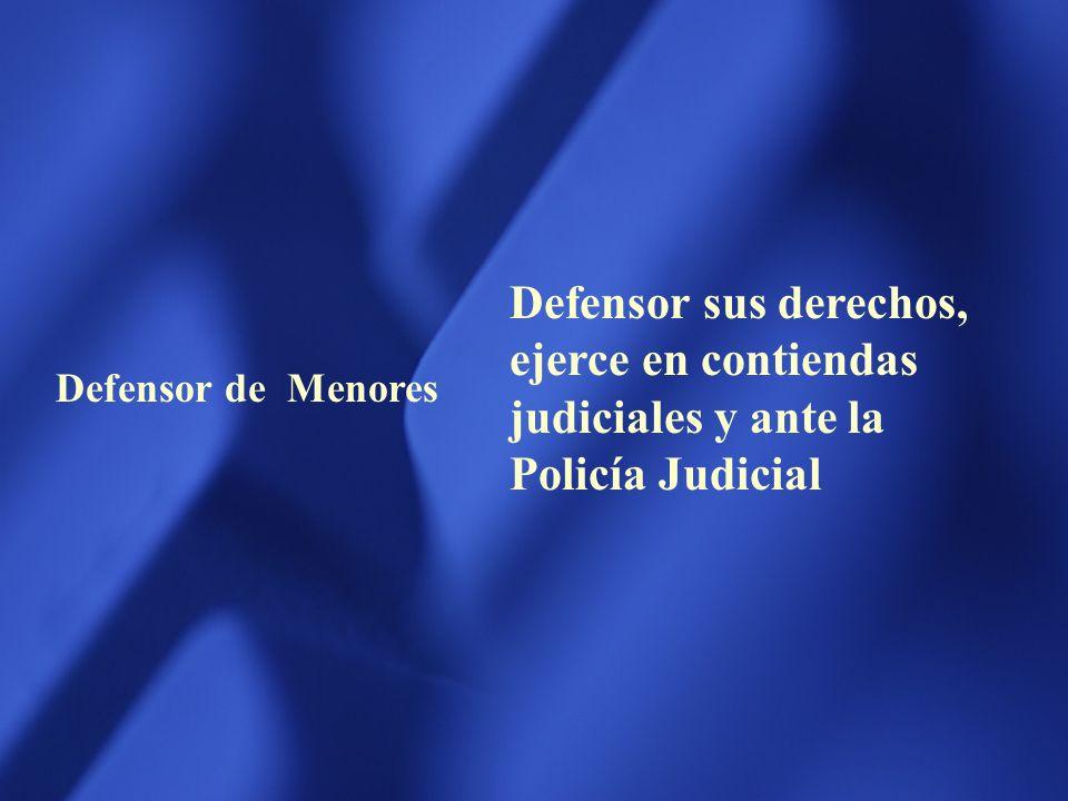 AGENTE FISCAL Ejercerá la Acción Penal y los actos propios de la policia judicial Dirigirá la investigación preliminar y Actuará ante el Tribunal y el