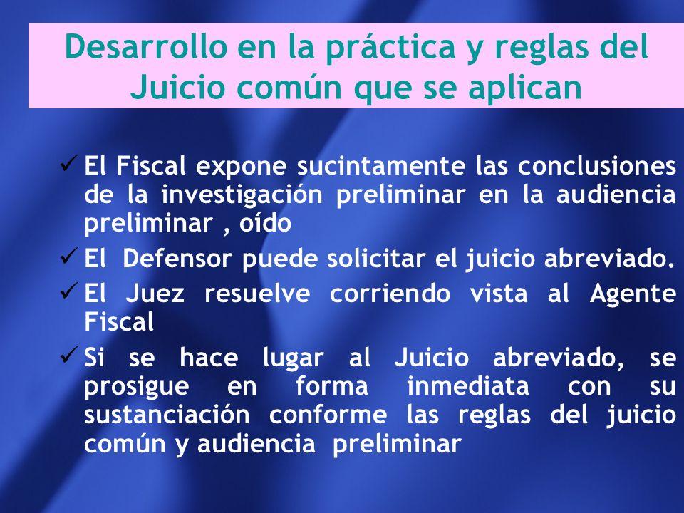 Requisitos diferenciados entre la Justicia de Menores y de Adultos Momento de su petición Conformidad de los imputados Confesión necesaria del o los i