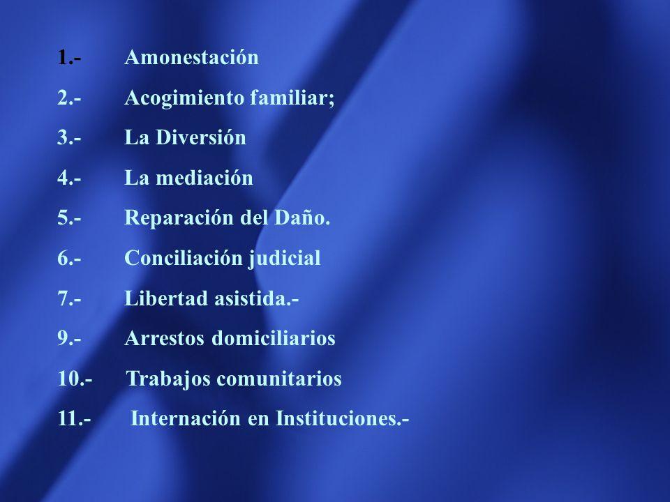 Solicitud de tratamiento medico, psicológico o psiquiatrico. Inclusion en programas oficiales o comunitarios de orientación Inclusión en sistemas de t
