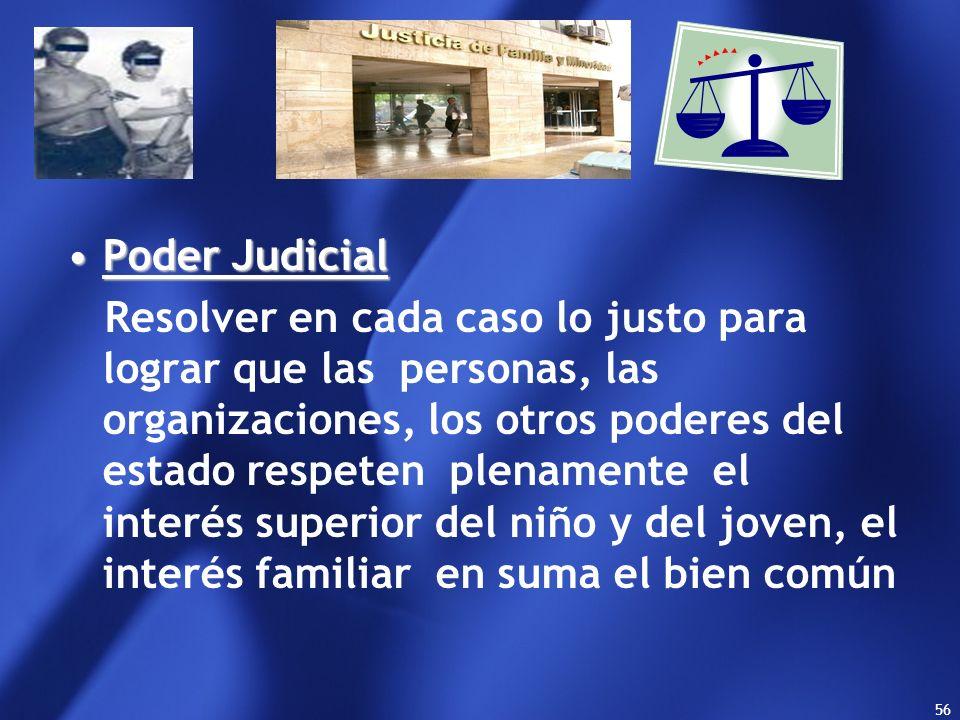 55 A través de la formación y sanción de normas que regulan el sistema de justicia juvenil y los regímenes procesales de acuerdo al marco mencionado s