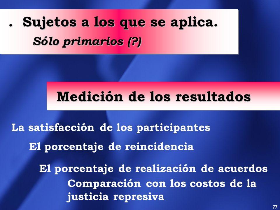 76 Derechos de las víctimas A ser informada del proceso A tomar conocimiento de todo lo que le concierne A obtener asistencia adecuada durante todo el