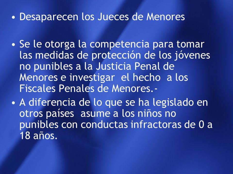 Mendoza fue la primera provincia que cambió su legislación Se puso en funcionamiento la Justicia de Familia en el año 1.998 y Penal de Menores con tod
