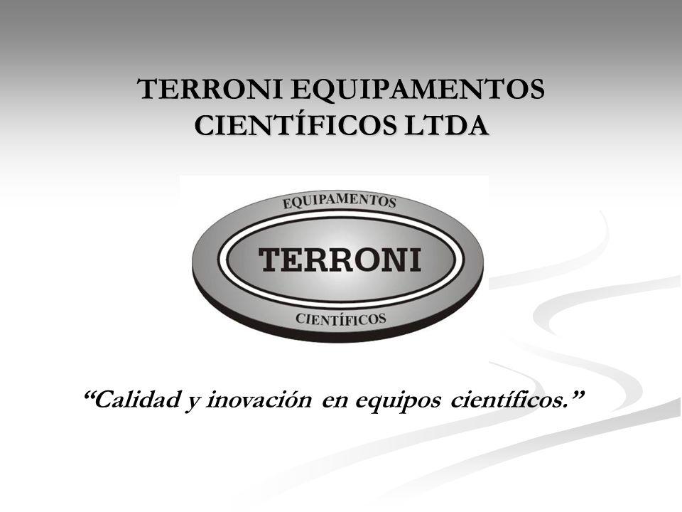 TERRONI EQUIPAMENTOS CIENTÍFICOS LTDA Calidad y inovación en equipos científicos.