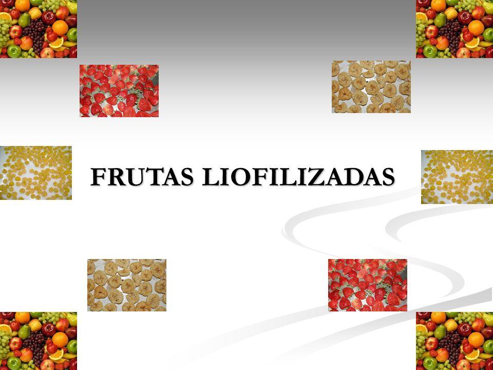 FRUTAS LIOFILIZADAS