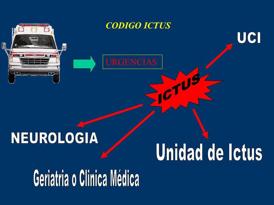 CODIGO ICTUS URGENCIAS