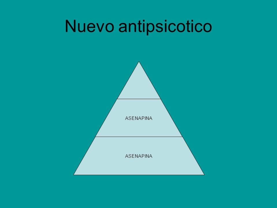 Nuevo antipsicotico ASENAPINA