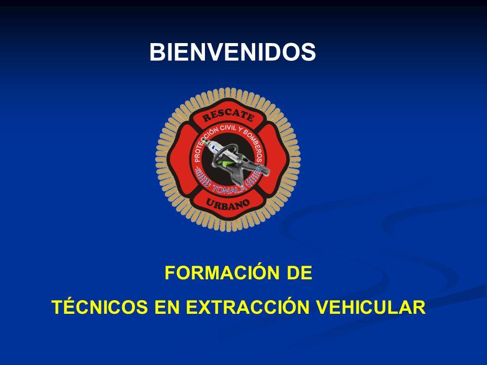 BIENVENIDOS FORMACIÓN DE TÉCNICOS EN EXTRACCIÓN VEHICULAR