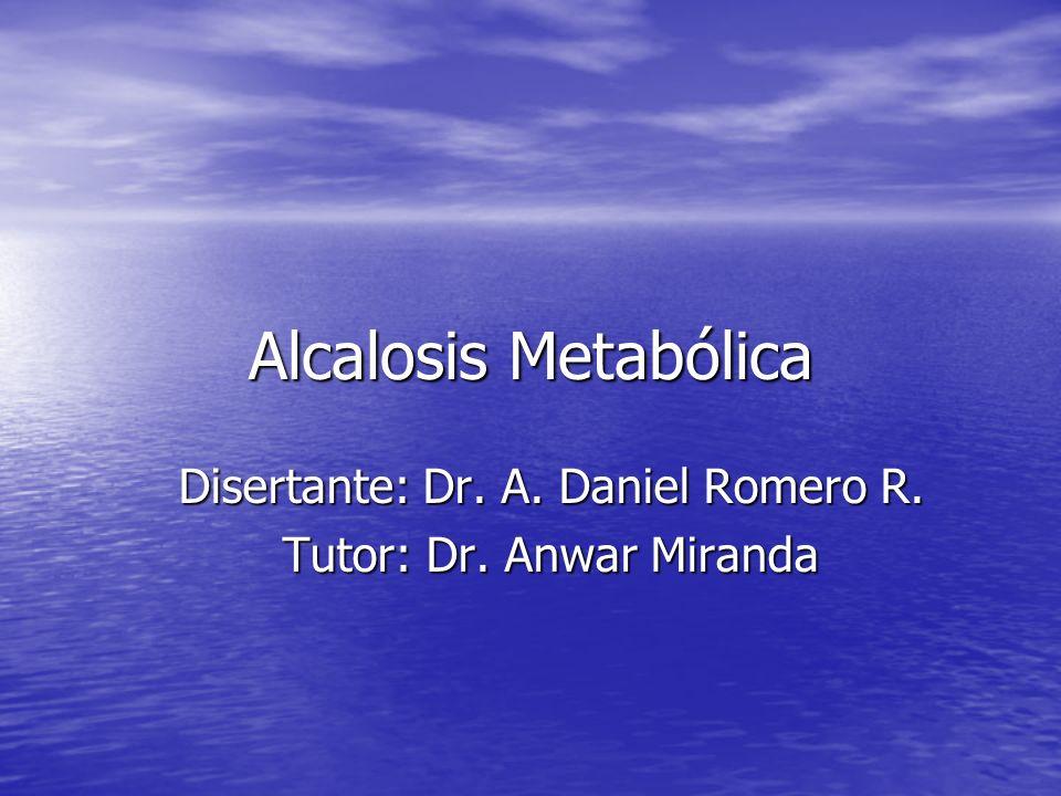 ALCALOSIS METABOLICA CONCEPTO.CONCEPTO. FISIOPATOLOGIA.