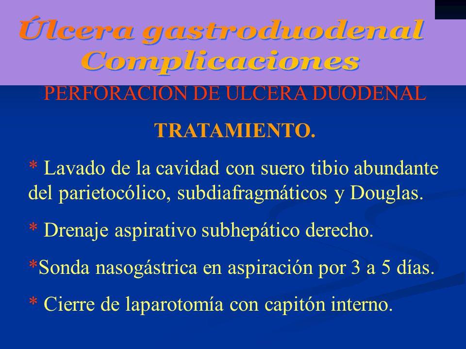 HEMORRAGIA GASTRICA: HEMOSTASIA DE LA ULCERA GASTRICA.