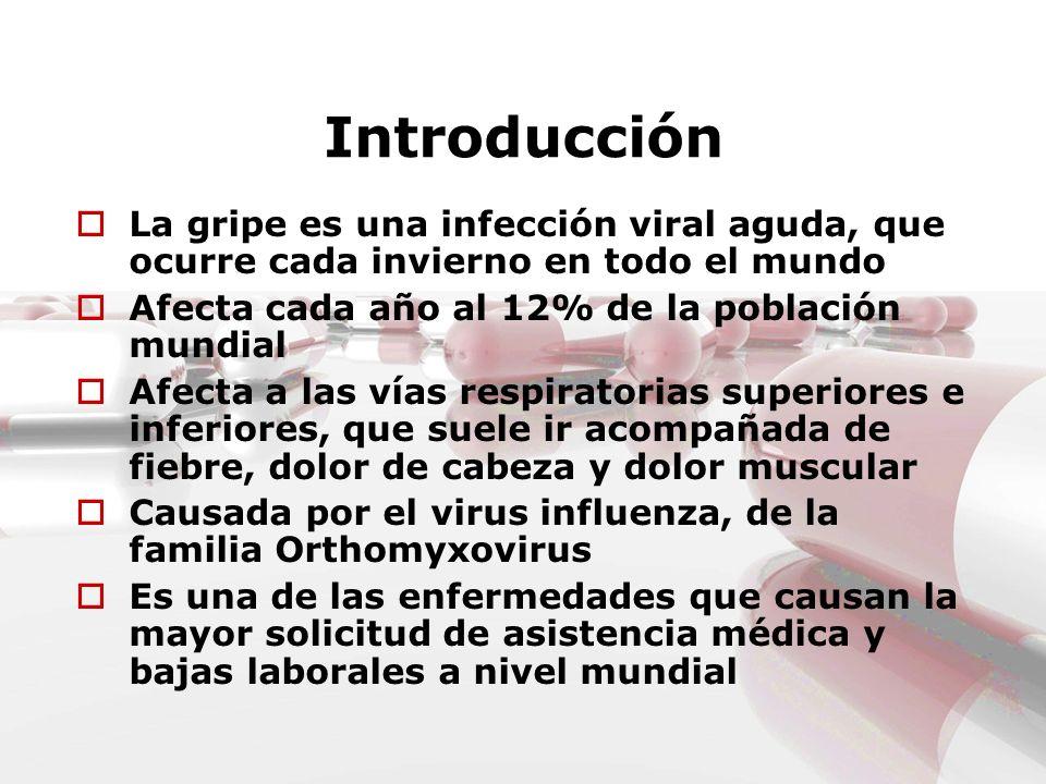 COMPLICACIONES Predominantemente respiratorias: neumonías, bronquitis, sinusitis u otitis Puede haber deshidratación y empeoramiento de enfermedades crónicas preexistentes como diabetes, asma o problemas cardiacos Puede reagudizar patología en pacientes con EPOC o fibrosis quística y también provocar la exacerbación aguda de su enfermedad en asmáticos Complicaciones neurológicas muy raras de la gripe incluyen el síndrome de Reye y el síndrome de Guillain-Barré.