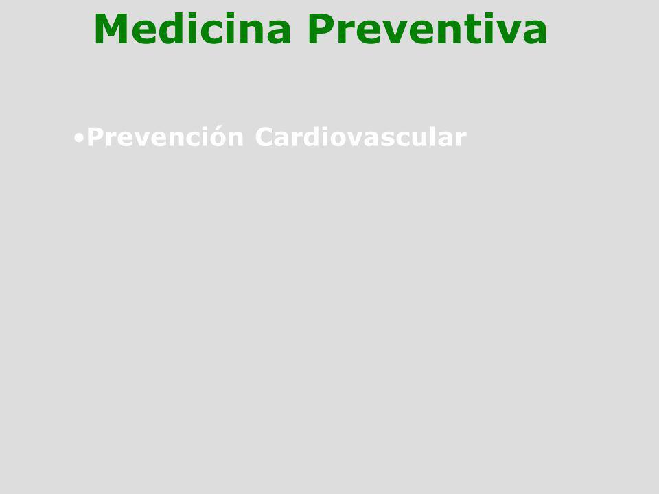 Prevención Cardiovascular Medicina Preventiva