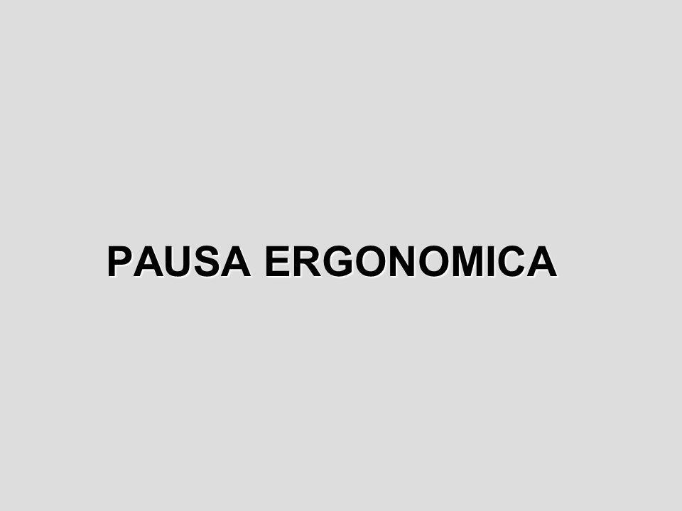 PAUSA ERGONOMICA
