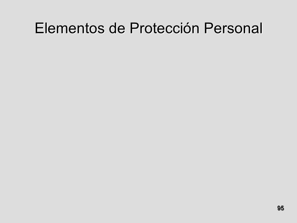 Elementos de Protección Personal 95