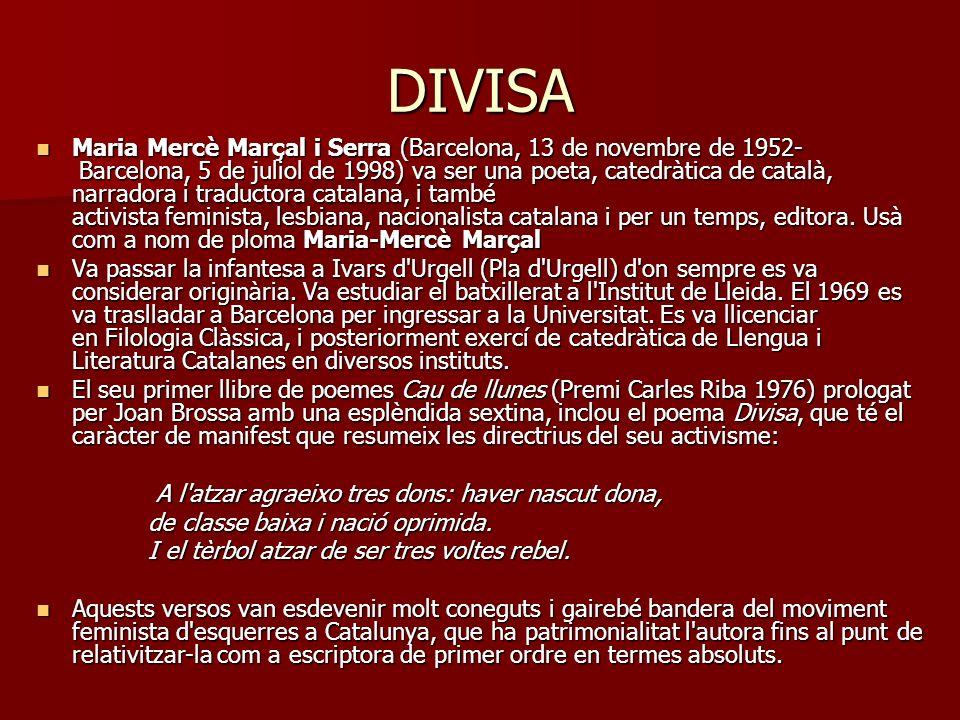VINT BALES (Cau de llunes) (Maria Mercè Marçal - Teresa Rebull) (Maria Mercè Marçal - Teresa Rebull)Maria Mercè MarçalTeresa RebullMaria Mercè MarçalTeresa Rebull Vint bales foren, vint bales ai!, quan trencava la nit.