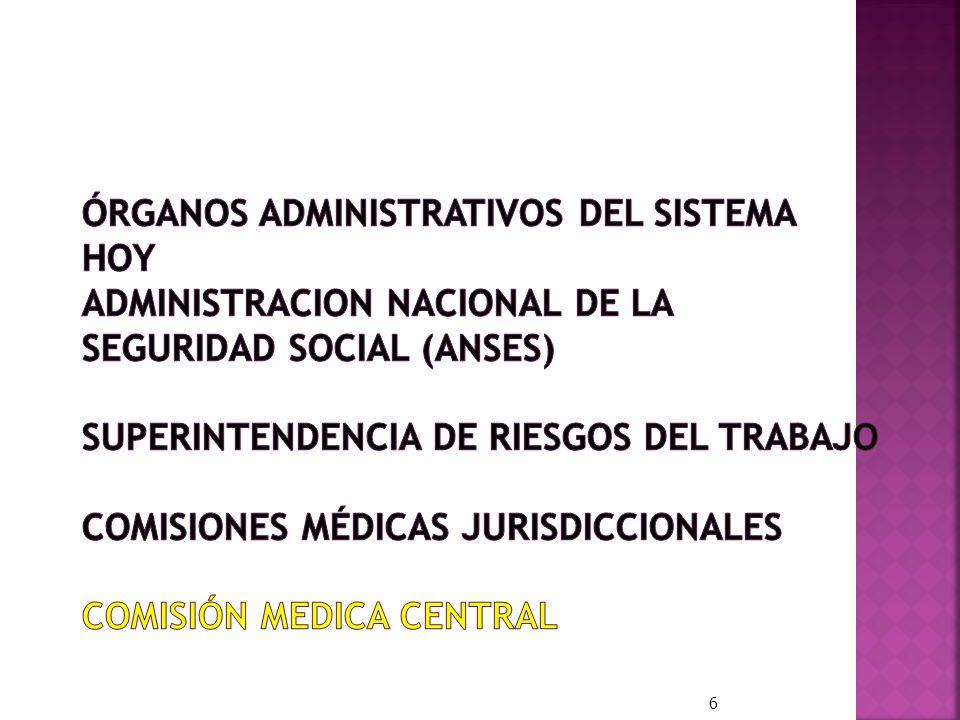 Prestaciones: REGIMEN PREVISIONAL PUBLICO (Sistema de Reparto) ESTADO REGIMEN PREVISIONAL PUBLICO (ANSES) CONTINGENCIAS Vejez – Invalidez y Muerte.