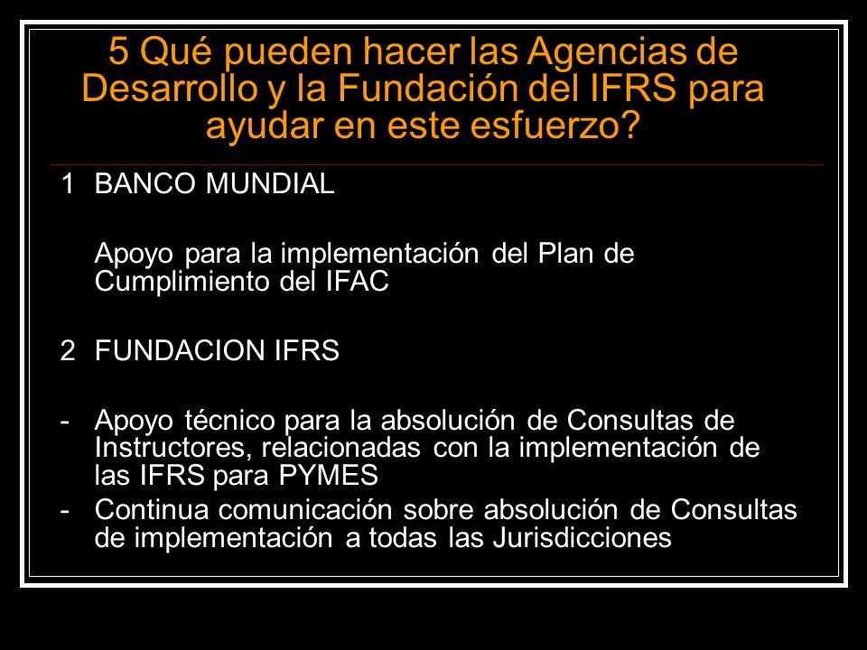 Muchas gracias -Colegio de CPC de Panamá, -Banco Mundial, -Fundación IFRS