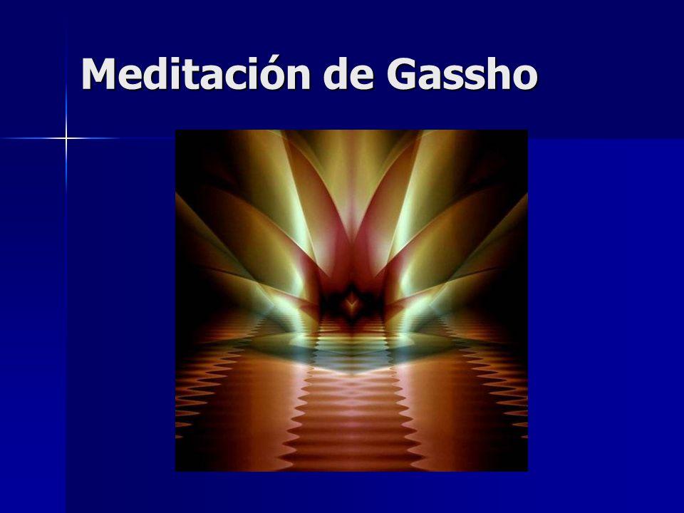 Meditación de Gassho