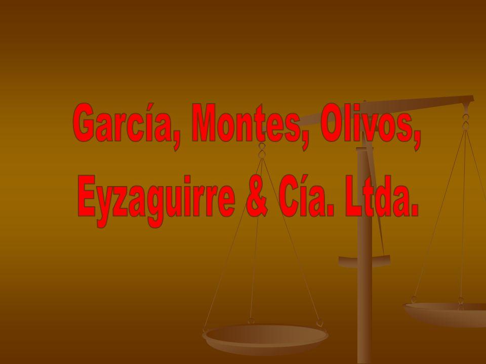García, Montes, Olivos, Eyzaguirre & Cía. Abogados García, Montes, Olivos, Eyzaguirre & Cía. Abogados