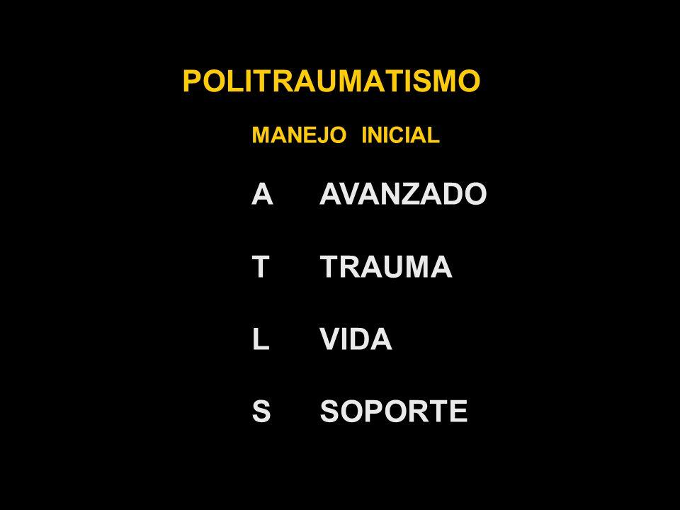 POLITRAUMATISMO MANEJO INICIAL A B C D E