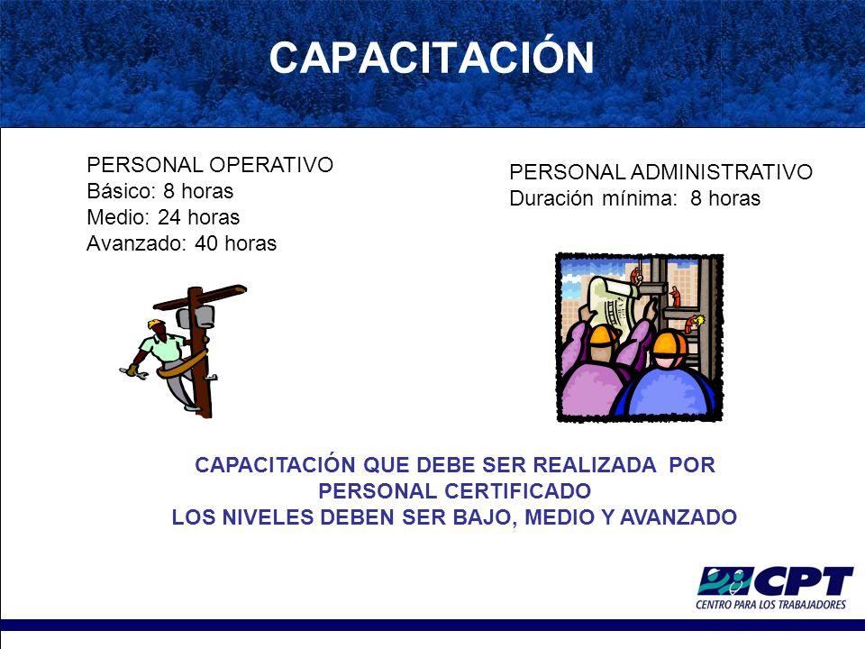 ENTIDADES CERTIFICADORAS Institución o empresa legalmente constituida Que cuente con personal certificado como entrenadores ENTRENADOR: Profesional certificado como persona competente o calificada, con entrenamiento certificado en metodología de enseñanza, por una institución nacional o internacional.