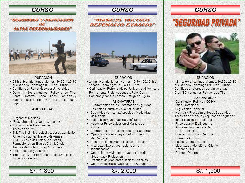 CURSO DURACION 42 hrs.Horario: lunes–viernes:16:30 a 20:30 hrs.
