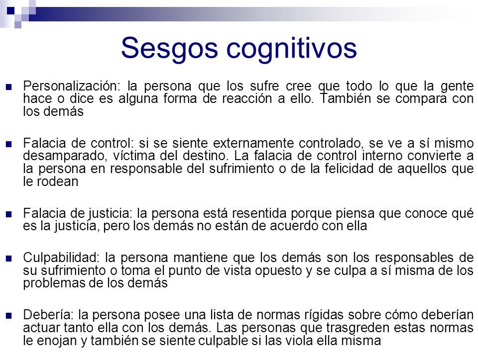 Sesgos cognitivos Razonamiento emocional: cree que tendría que ser verdadero, automáticamente.
