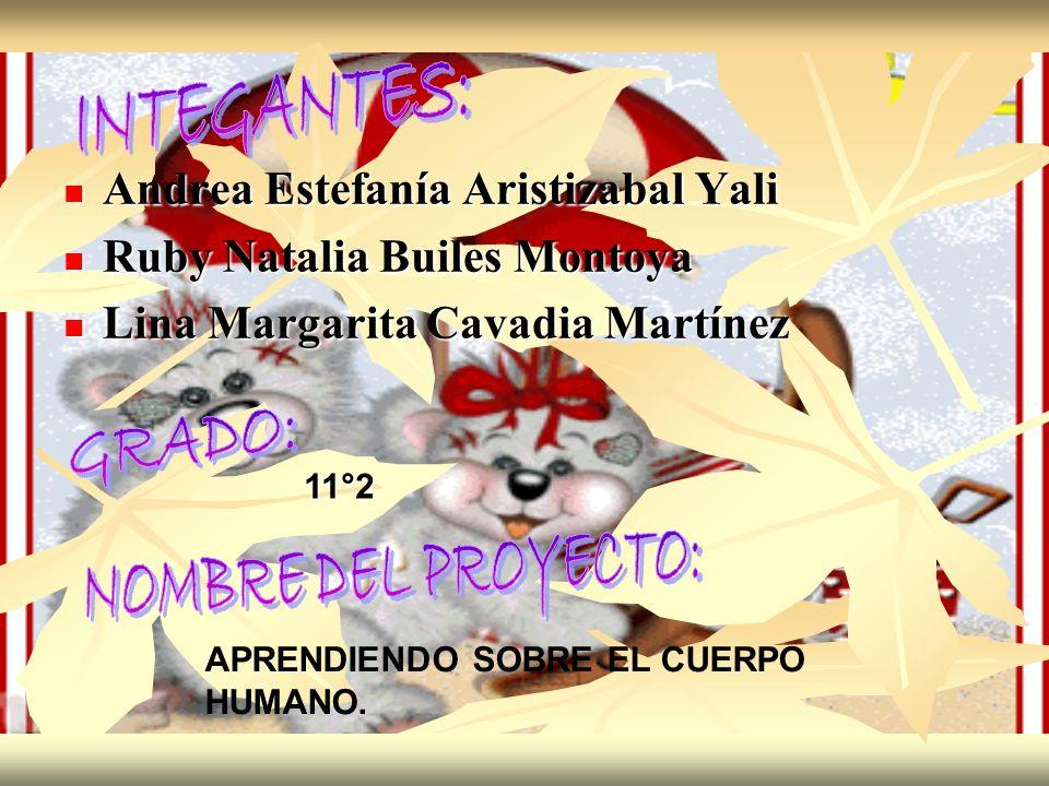 Andrea Estefanía Aristizabal Yali Andrea Estefanía Aristizabal Yali Ruby Natalia Builes Montoya Ruby Natalia Builes Montoya Lina Margarita Cavadia Mar