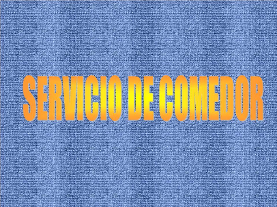 TIPO DE SERVICIO CONTROL DE MANIPULACION CONTROL DE TRANSPORTE CONTROL DE INSTALACIONES Y ÚTILES, CONTROL DE MATERIAS PRIMAS CONTROL DE ALMACENAMIENTO CONTROL DE CONSERVACIÓN CONTROL DE RESIDUOS